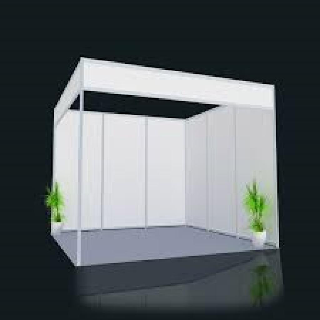 Cloisons modulaire octanorm pour stand salon mons for Panneau stand salon